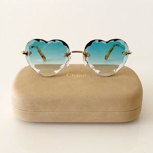 Chloe Heart Sunglasses, New